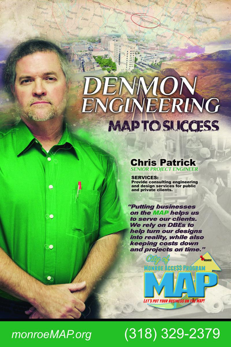Chris Patrick Denmon Engineering Map to Success - City of Monroe, LA