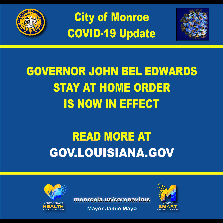 COVID-19 Response City of Monroe La