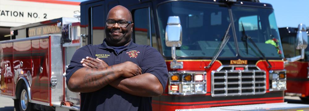 Monroe, la Fire Department