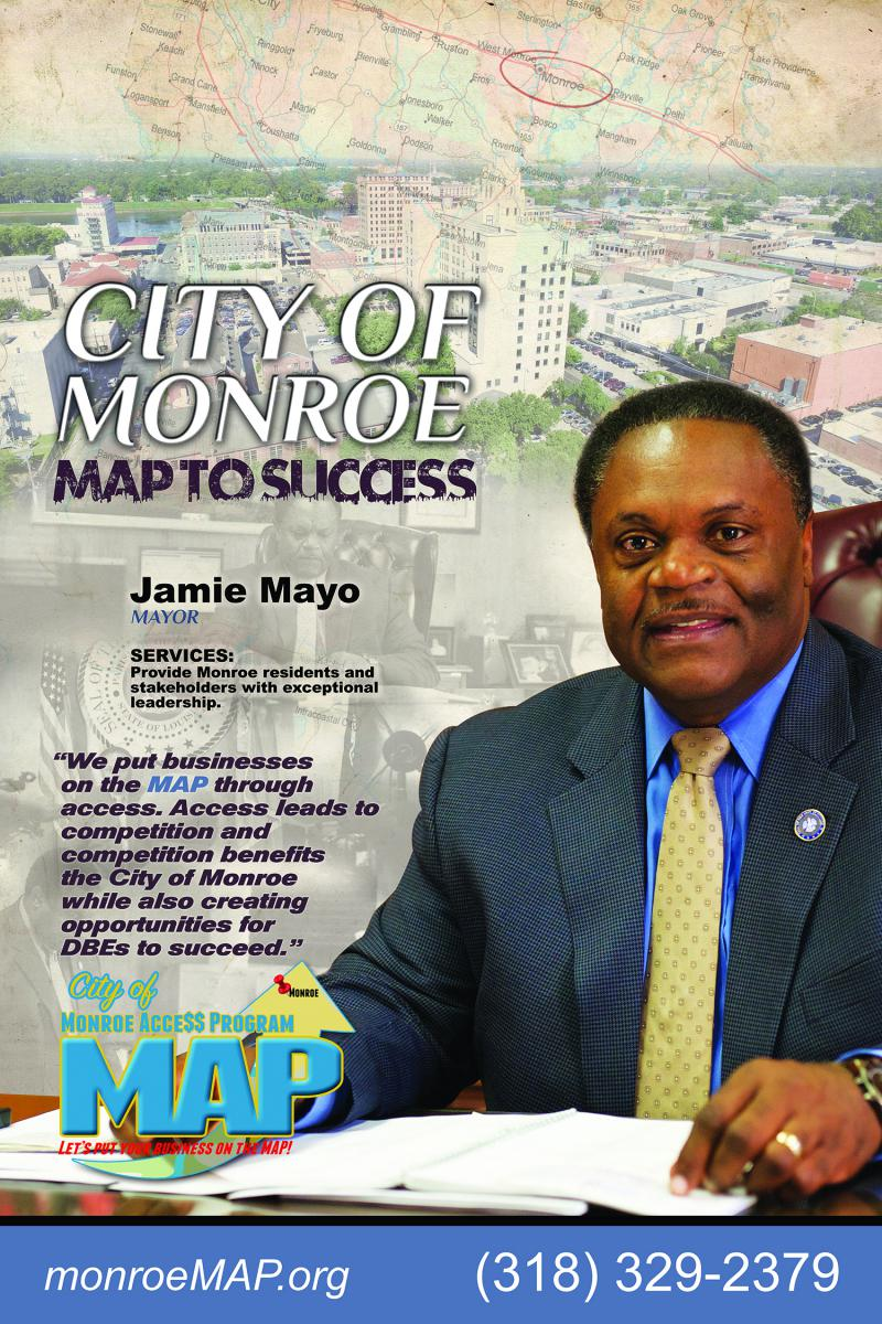 City of Monroe Map to Success Jamie Mayo