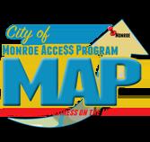 City of Monroe Access Program - Map Local Business, Louisiana