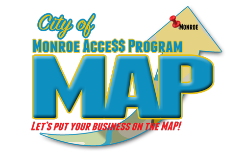 City of Monroe Access Program - Local Business map