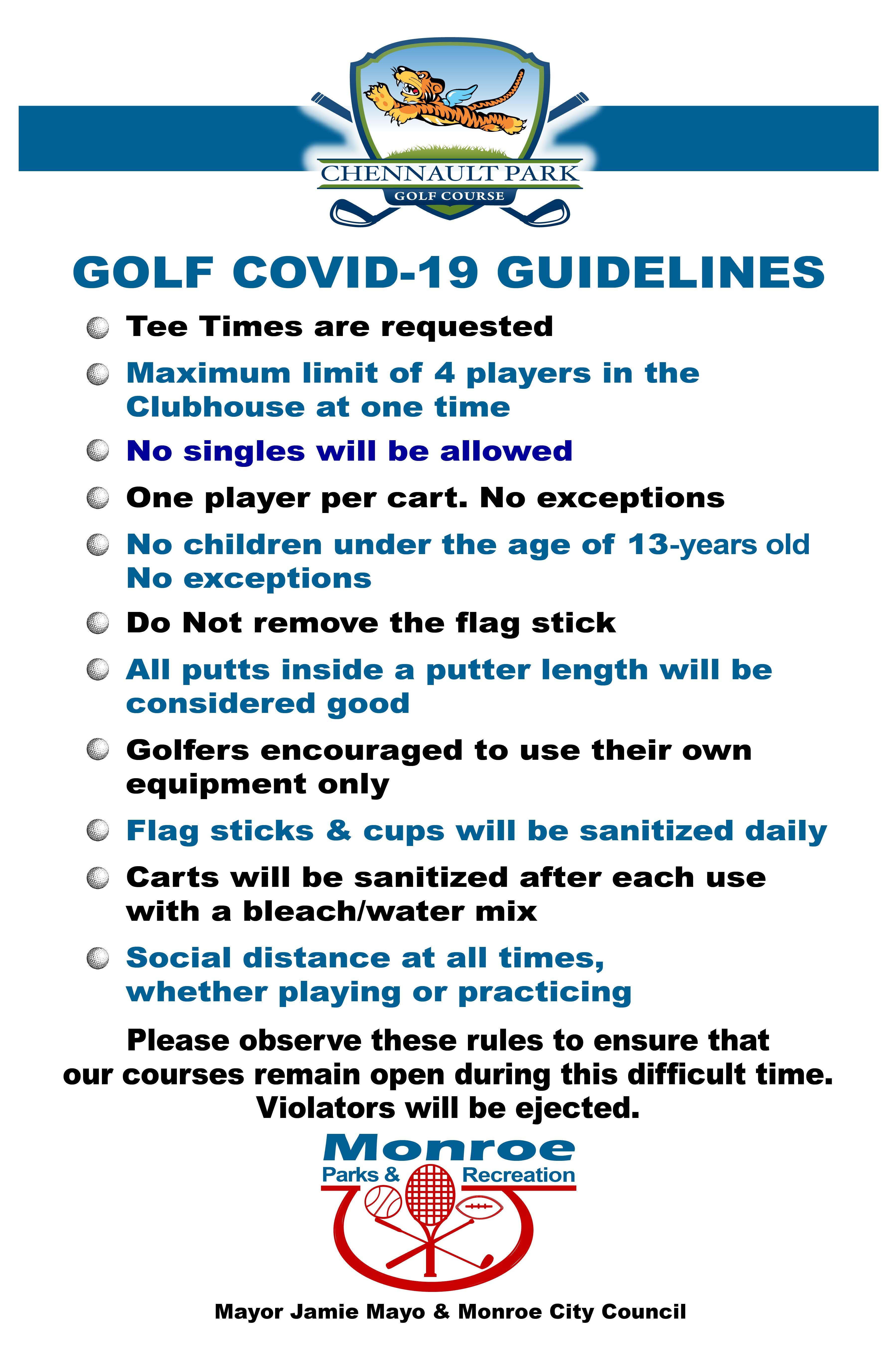 Phase 1 - Golf