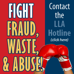 Fight fraud, waste, & Abuse - LLA Hotline City of Monroe