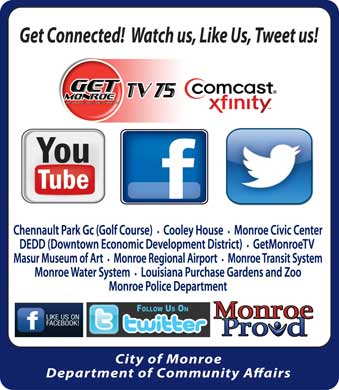 Civic Center Directions - Monroe Community Affairs Department