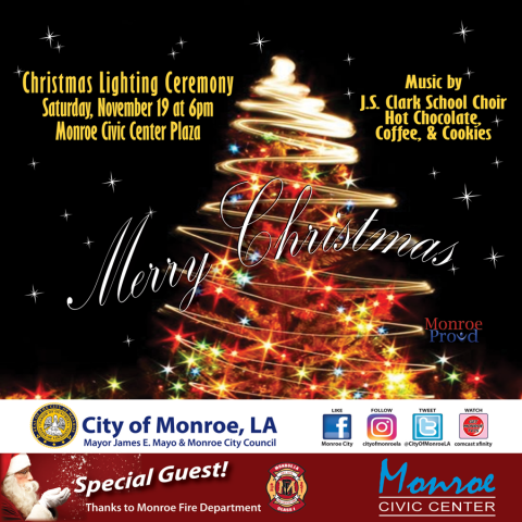 News & Announcements Listing | City of Monroe, Louisiana