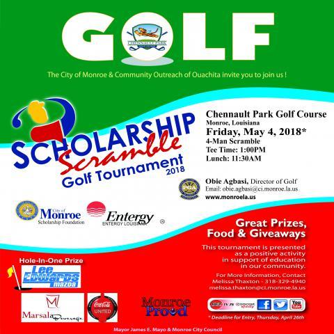 Scholarship Scramble Golf Tournament