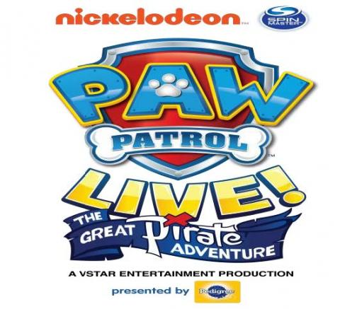 "X Barks the Spot in PAW Patrol Live! ""The Great Pirate Adventure"" in Monroe"