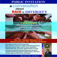 Conversation about Race and Diversity - City of Alexandria, Louisiana