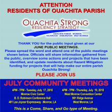 Ouachita Strong July Meeting